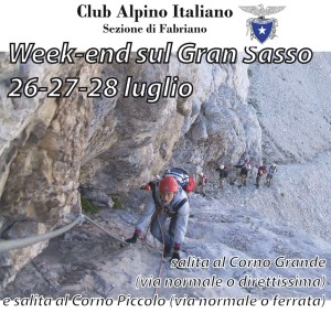 week end sul Gran Sasso 26-27-28 Luglio 2013